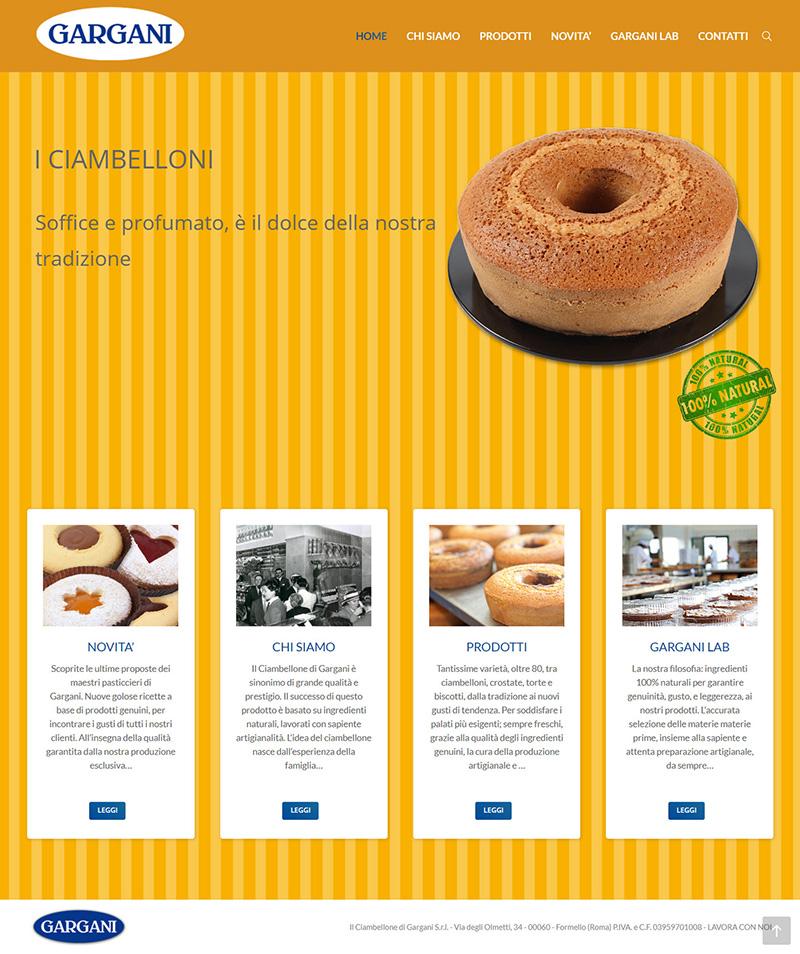ilfornodigargani.it - portfolio sito arsdue