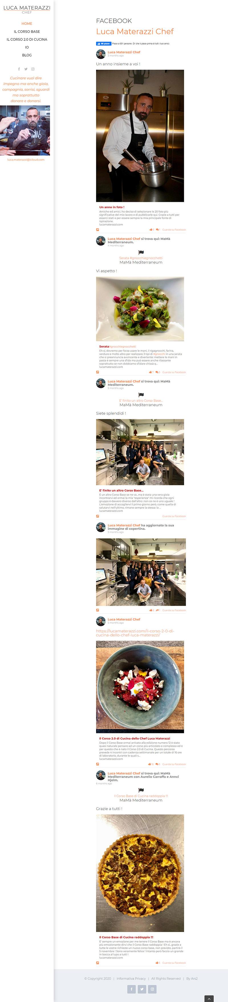 lucamaterazzi.com - portfolio sito arsdue