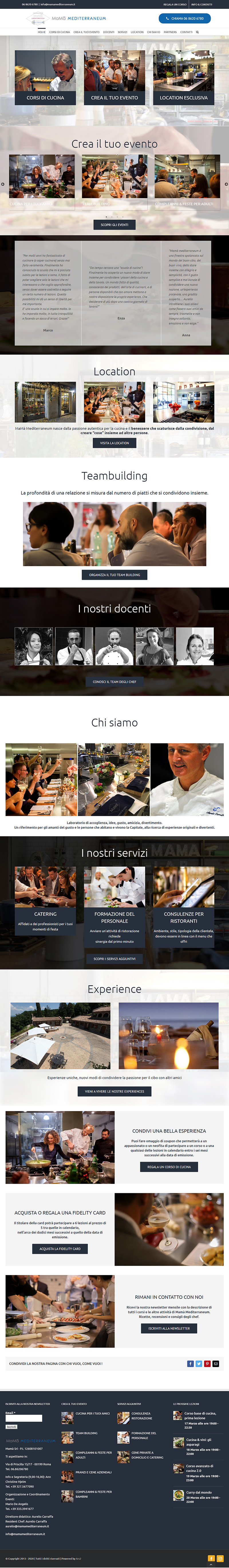 mamamediterraneum.it - portfolio sito arsdue
