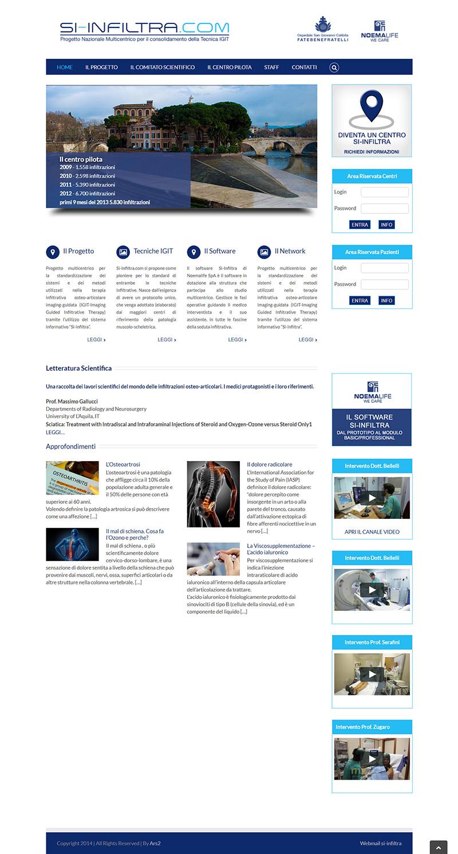 si-infiltra.com - portfolio sito arsdue
