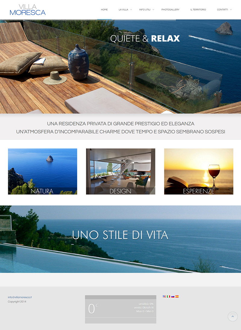 villamoresca.it - portfolio sito arsdue