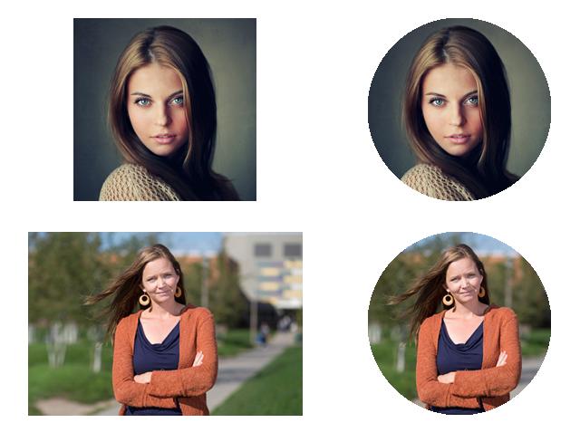 immagini circolari con CSS